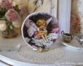 Candytuft Flower Fairies Dollhouse Plate