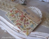 Florentine Musik Folder with Illustrated Music Sheets for Dollhouse