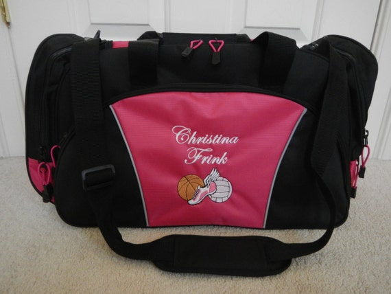Duffel Bag Personalized Soccer Baseball Volleyball By