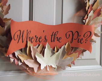 Add a Custom Scroll Banner with your Choice of Wording to Your Wreath Order. Multiple Sizes Available