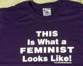 CHILDS SIZES - This is What a Feminist Looks like Short Sleeved Tee