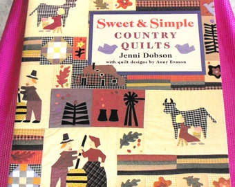 Sweet & Simple Country Quilts by Jenni Dobson  1996