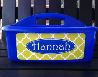 Personalized Monogrammed Caddy- Design Your Own