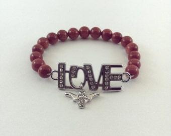 Love Longhorns Bracelet