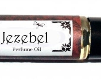 JEZEBEL - Roll on Premium Perfume Oil -  2 sizes to choose from - 1/3 oz or 1/6 oz- Gorgeous sinfully beautiful blend