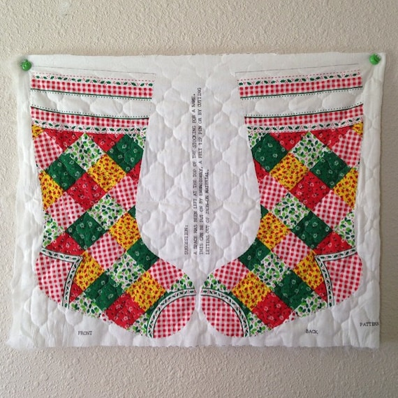 Christmas Stocking Quilting Panels Images