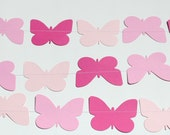 Butterfly Birthday Decorations- 5 Foot Long, birthday party decoration, baby shower decoration, girl birthday-