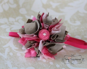USMC - Pretty Tulip Hair Clip- Discounted Inventory