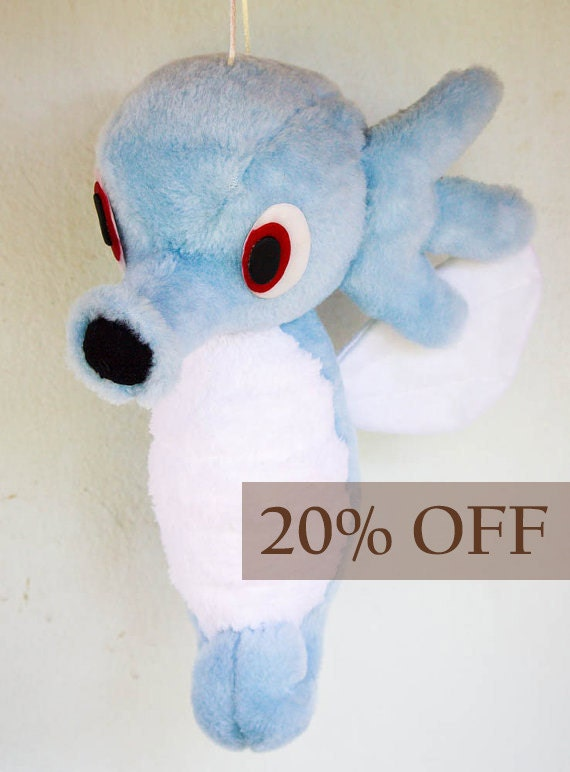Horsea the Pokemon by SmallFurryPaw on Etsy