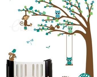 Nursery wall decal childrens wall sticker art  - 0451
