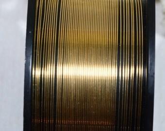 14k GF 22GA HH Half Round Wire Jewelry Making Supplies Wire Findings 14/20 Gold Filled Half Round Wire