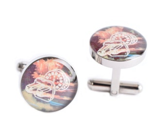 Picture Finder Cufflinks, retro inspired mens jewelry, mens cuff link accessories, style # AM008