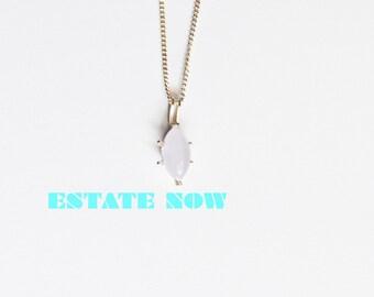 Lavender Jadite Pendant, Marquise Stone, set in Sterling Silver,VALENINES SALE, Item No. S317