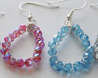 Chinese Crystal Earrings