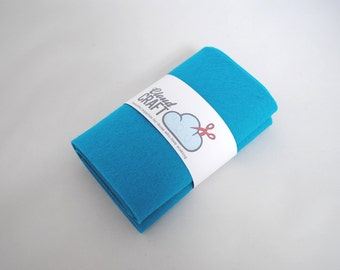 100% Wool Felt Roll - 12x90cm - Aegean
