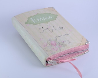 "Jane Austen ""Emma"" Book clutch"