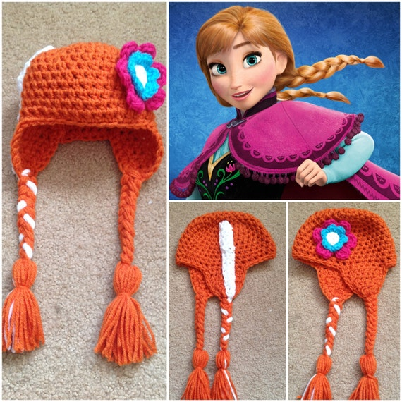 Crochet Anna Beanie/Hat Disneys Frozen by Potterfreakg on ...
