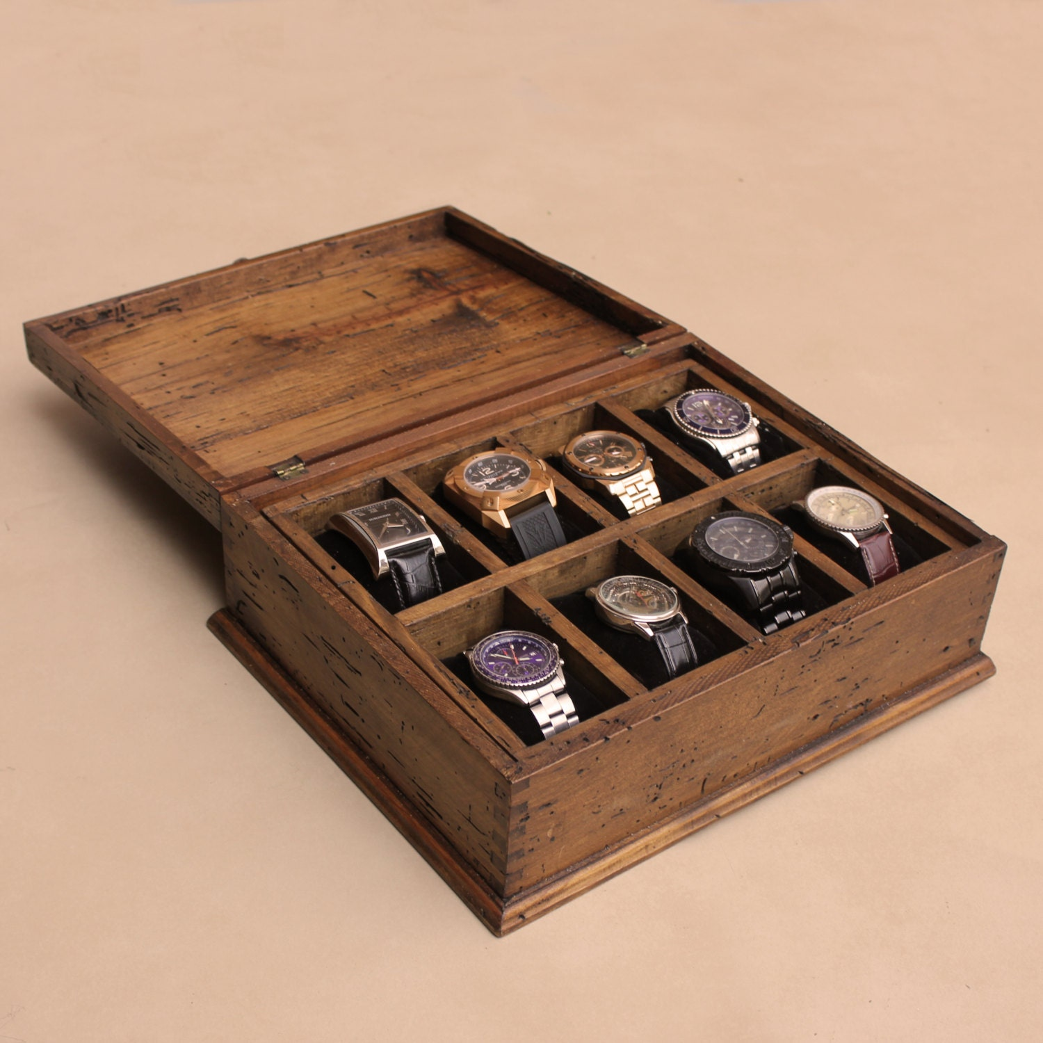 men s watch box watch box watch case wood watch box 🔎zoom