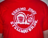 Vintage 80s Eskimo Joe's T shirt Stillwater, OK - Large L tshirt