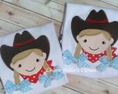 Cowgirl Ruffle Shirt