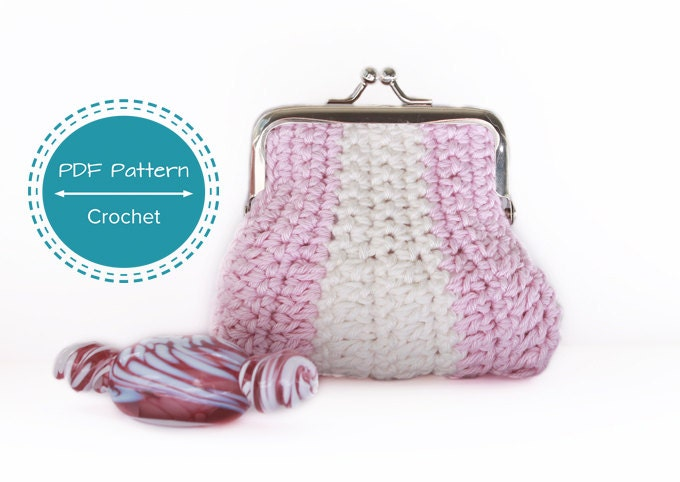 Easy Crochet Small Purse Patterns For Beginners : Crafty ideas - Purses on Pinterest Purses, Crochet ...