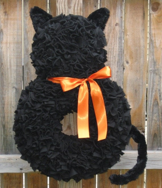 Christmas Tree Made Of Black Cats: Unavailable Listing On Etsy