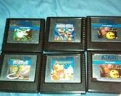 Atari 5200 games lot