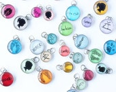 Your baby's ACTUAL hand or footprints  charm