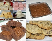 Care Package Gift Bundle Fudge Cookies Brownies