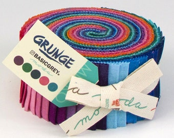 Moda - Grunge Jelly Roll by Basicgrey