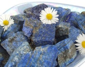 Rough Lapis Lazuli Crystal, Blue Raw Rock, Mineral, Afghanistan/Pakistan - up to 20g - 30-46mm - Self Knowledge, Confidence, Esteem