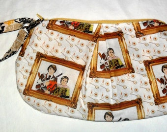 Harold and Maude inspired Clutch Style bag