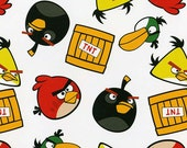 Reserved for Rebecca, 1.5 Yard, Birds, Angry Birds Roxio, Angry Birds TNT, Angry Birds, 02214