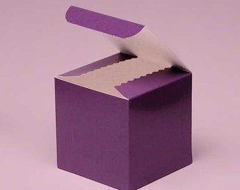 Favor Boxes Mini Purple  Candy Boxes 24 party favors boxes for  candy and holiday treats