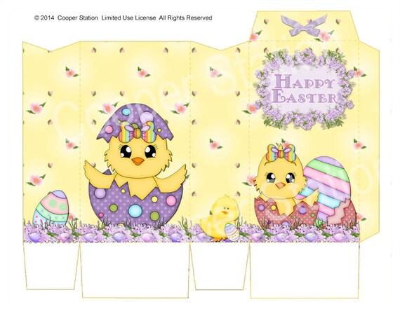 Digital Printable Easter Pinch Bag