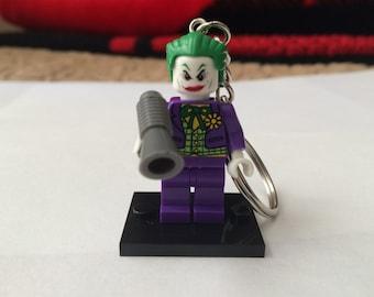 Handmade Joker Minifigure Keychain