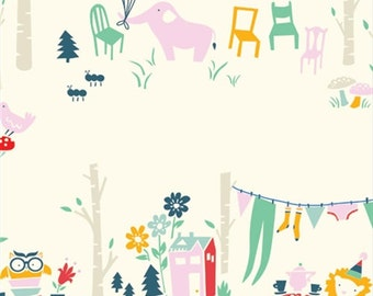 Everyday Party - Everyday Main - Emily Isabella for Birch Organic Fabrics - 1/2 Yard