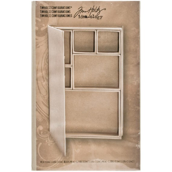 30% OFF TODAY ONLY - Tim Holtz - Idea-ology - Mini Configuration Book