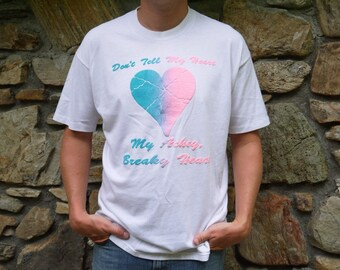 Vintage Billy Ray Cyrus Achey Breaky Heart T Shirt