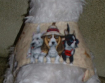 Dog Jacket--Dog Clothes---Dog Vest---Pet Clothes