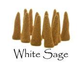 White Sage Artisan Hand Made Incense Cones