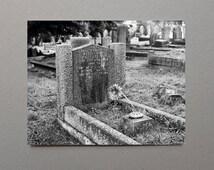 Headstone, Art, Film, English, Cemetery, Black and White Photography, Monochromatic, Grave, Graveyard, Cemetery Art, Cemetery Photography