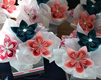 Kusudama Centerpiece - Table Decor - Paper Flowers - Set of 6