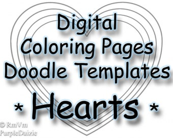 Stars Printable Coloring Book Digital Patriotic Stars Color