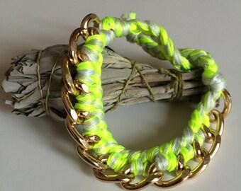 Curb Chain Friendship Bracelet