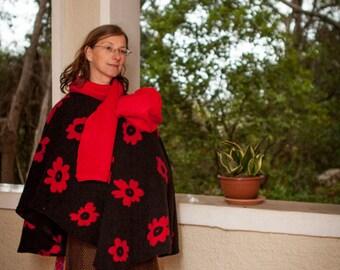 Topatop poncho Babywearing coat Maternity jacket