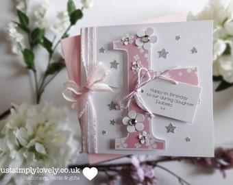 Pink & Silver Age Birthday Card!