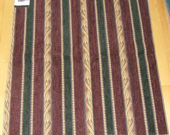 "Designer Fabric Upholstery Sample - J. Ennis Fabrics Lifestyles Pattern MacLeod 26"" x 26"""