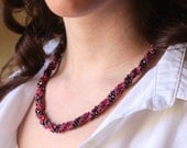 KNITTING KIT - Leah Twist Necklace Kit