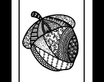 Fine Art Print- Acorn